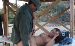 Kinky amateur woman railed by BP officer on the border