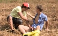 Young boy blowjob gay porn first time Anal-Sex In Open Field