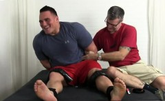 White boy sucking first foot long black cock and gay feet ti