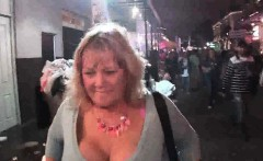 Random amateurs flashing in public during mardi gras