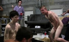 Straight twinks buttfucking for frat hazing