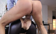 Whore in stockings rides