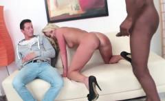 blonde wife big black dick