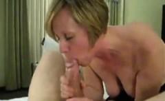 Blonde Sucking Cock