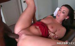 Hot MILF mouth and twat fucks pecker