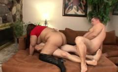 Big Tit Asian BBW Banged by Hubbys Fat Friends