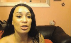 Hot Ebony Babe Having Sex with Her Boyfriend