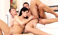 Bisexual jock sucked while anally pounded