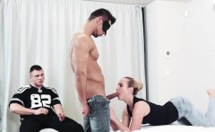 Blonde Vinna Reed fucked by gays cock