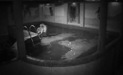 A man fucks his partner that is sexy within the pool