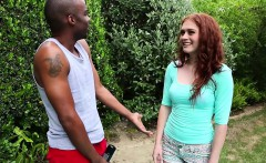 Brokenteens Redhead cutie gets a big load for her birthday