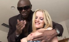 horny blonde slut estelle fucking big black dick
