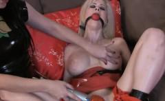 Emily loves pleasuring Edens moist pussy