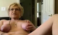 Mature amateur chubby slut anal and blowjob