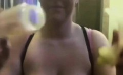 Big boobs MILF Pumping Lactating on wantmilfcom