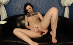 Horny Amateur Teen Masturbates To Orgasm On Webcam