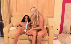 MILFGonzo Holly Heart seduces step daughter Sabrina Banks
