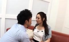 Japan milf gets 2 studs to demolish her love holes