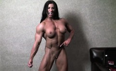 Nude Woman Bodybuilder Angela Salvagno Naked