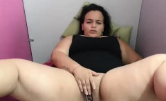 Horny Black Fat BBW Slut Webcam