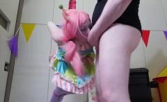 Unusual girl is taken in butt hole assylum for awkward treat