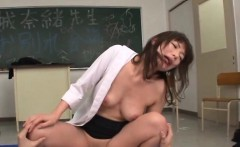 Kinky teacher on chain gets screwed hard in a lot of poses