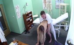 Gal fucked doctor after exam