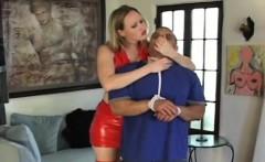 Frisky mistresse cutie enjoys sitting on her man's face