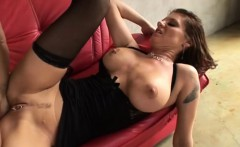 Kayla Quinn in stockings loves to shag