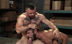 Muscle bear anal and anal cumshot