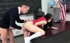 InnocentHigh - Hot Cheerleader Paid To Fuck Nerd