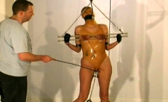 Nude milf gets the tits tied up in servitude sex scenes