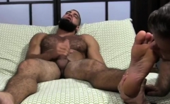 Men open legs naked video and cumming on guys feet gay Ricky