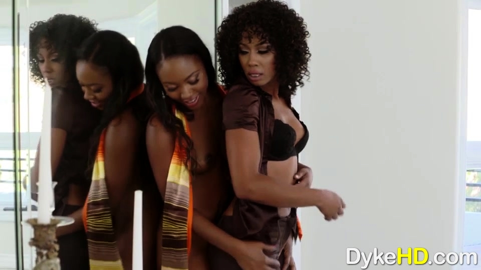 Little Boobs Chanell Heart and Misty Stone