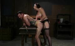 Chanel Preston Pegging Submissive Dude