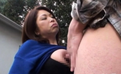 Playgirl On The Beach Pleases Her Man By Sucking His Cock