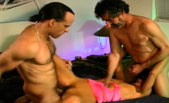 Anal Threesome For Horny Hotwife