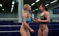 Female Wrestles Indulge in Lesbo Sex