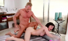 Big tits Olive Glass encounter Marcus Londons hard cock
