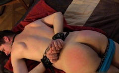 Russian gay spanking and massage