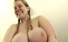 Big boobs amateur blonde customer ass fucked for free