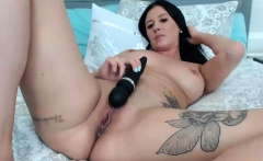 Explosive Orgasm From Super Hot Brunette