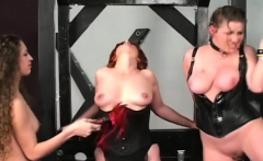 Fascinating girl enjoys intimate moments of bondage