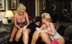 Nineties lesbian foursome