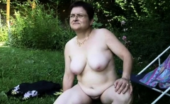 Mature granny GILF going lesbian