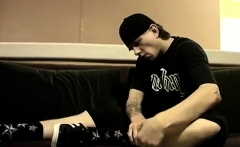 Long dicks video download gay Cummy Feet With Str8 Ian