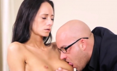 Kissable Schoolgirl Gets Teased And Fucked By Senior Mentor1