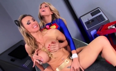 SEXYMOMMA - Blonde babe gets caught and her pussy vandalized