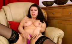 Brunette pornstar sex and cumshot