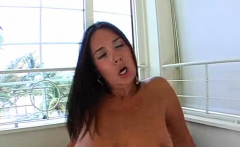 Lusty busty Sonia Carrere gets drilled deep
